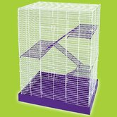 Chew-Proof 4-Story Hamster Cage