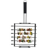 Barbecue Removable Skewers On A Stand