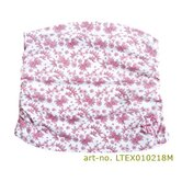 Belly Band in Berry Flower Ruffled