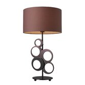 Addison Table Lamp in Chocolate Plated