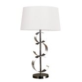 Enon Table Lamp in Chrome And Black Chrome