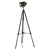 Legacies Ethan Adjustable Tripod Floor Lamp