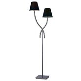 Trump Home Park Avenue Floor Lamp in Chrome