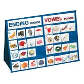 Ending Sounds and Vowel Sounds Tabletop Pocket Chart