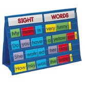 Sight Words Tabletop Pocket Chart