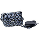 Coated Midi Buckle Diaper Bag