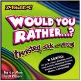 Would You Rather…? Twisted Sick Board Game