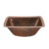 Rectangle Copper Bar Sink in Oil Rubbed Bronze