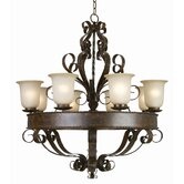 McKensi 8 Light Chandelier