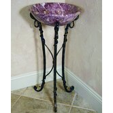 Firestine 31&quot; x 16&quot; Hand Made Pedestal Sink Set