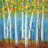 "Birch Bliss II Wall Art - 31"" x 31"""