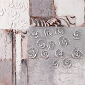 "Rosettes I Wall Art - 31"" x 31"""
