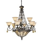Dynasty 12 Light Chandelier