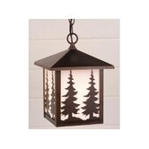 Yellowstone Outdoor Pendant in Burnished Bronze