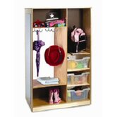 Mirror Wardrobe with Storage