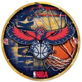 NBA 18&quot; High Def Clock - New Orleans Hornets