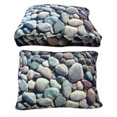 Rectangle River Rock Dog Bed