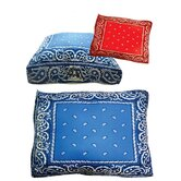 Rectangle Bandana Dog Bed