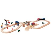 City Road and Rail Play Set - Transportation