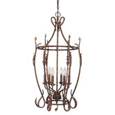 Trellio 6 Light Cage Pendant