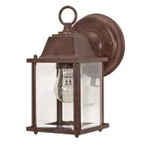 Cube Wall Lantern in Old Bronze