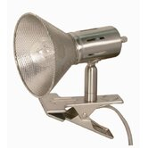 One Light 7&quot; Small Goose Neck Desk Lamp in Nickel