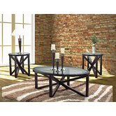 Ashley 3 Piece Coffee Table Set