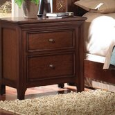 Heritage 2 Drawer Nightstand