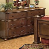Kingsley 6 Drawer Dresser