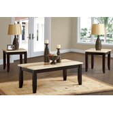 Trinity 3 Piece Coffee Table Set