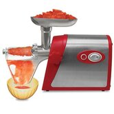 Electric Number 5 Deluxe Meat Grinder with Tomato Strainer