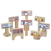 8 Piece Block Toppers Set