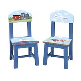 Transportation Extra Kid's Chair (Set of 2)
