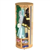 Natural Dress-Up Carousel Armoire