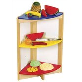 Color Bright Kitchen Side Shelf