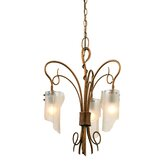 Recycled Soho 3 Light  Chandelier