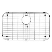 "30"" x 7"" Kitchen Sink Bottom Grid in Chrome"