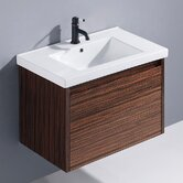 "32"" Espresso Petit Single Bathroom Vanity"