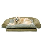 Ortho Sleeper Comfort Couch® Dog Bed in Sage