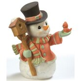 """Home for The Holidays"" Annual Snowman Figurine"