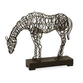 CKI Anatole Woven Horse Statuary