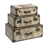 Hacienda Storage Suitcases (Set of 3)