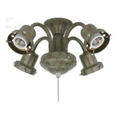 Four Light Traditional Fitter in Oil Rubbed Bronze