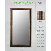 Designers Choice Rubbed Copper Bronze Mirror