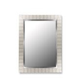 Parma Mirror in Silver with Stainless Liner
