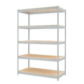 1500 Series 72&quot; H Five Shelf Shelving Unit
