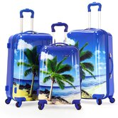 Palm Beach 3 Piece Spinner Luggage Set