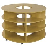 Two Piece Curved High Storage Center