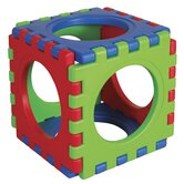 6 Pieces Tunnel and Cube Set