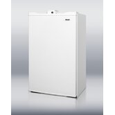 34.25&quot; x 19.63&quot; Refrigerator Freezer in White